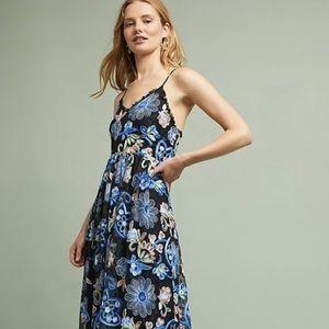 eri & ali  multi Lace Floral Embroidery Dress SP
